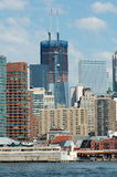 Neue World Trade Center-Anstiege höher lizenzfreies stockfoto