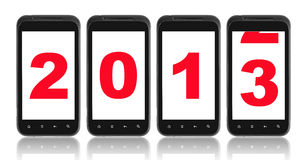 Neuen Jahres 2013 Stockfotos