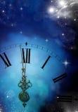 Neuen Jahres um Mitternacht stockfotos