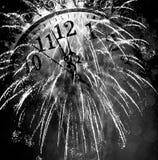 Neuen Jahres um Mitternacht Lizenzfreie Stockfotografie