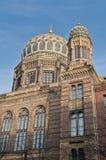 Neuen Synagoge på Berlin, Tyskland Arkivbild