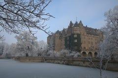 Neuenstein slott Royaltyfri Fotografi