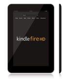 Neuer Amazonas zünden Tablette des Feuers HD an Stockfotos
