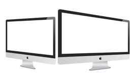 Neuer Apple 2012 Imac stock abbildung