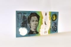 Neuer Australier zehn Dollar-Anmerkung Lizenzfreies Stockbild