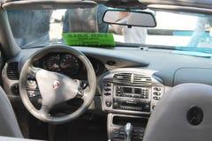 Neuer Auto-Innenraum Lizenzfreies Stockbild