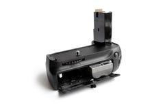 Neuer Batteriegriff für einzelnes ReflexPhotocamera Lizenzfreies Stockbild