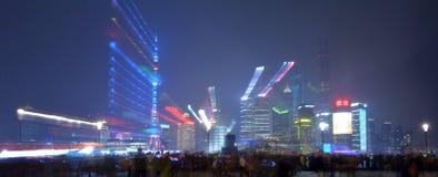 Neuer Bereich Shanghai Pudongs Stockfotos