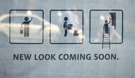 Neuer Blick, der bald kommt Lizenzfreie Stockfotos