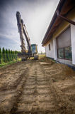 Neuer Boden für Hausgarten Stockfotografie