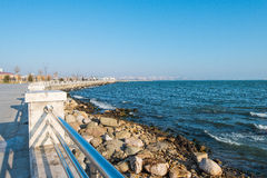 Neuer Boulevard in Baku Ag Sheher Lizenzfreies Stockfoto