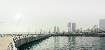 Neuer Boulevard in Baku Ag Sheher Lizenzfreie Stockfotos