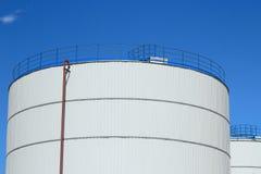 Neuer chemischer Vorratsbehälter Stockfotografie