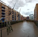 Neuer Concordia Kai, Str.-Retter Dock, London, Großbritannien Lizenzfreie Stockfotografie