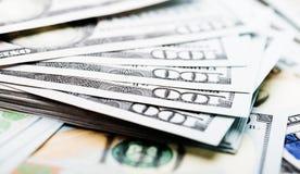 Neuer 100 Dollarschein Lizenzfreies Stockfoto