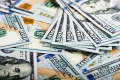 Neuer 100 Dollarschein Lizenzfreie Stockfotos