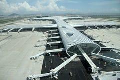 Neuer Flughafen Shenzhens Lizenzfreie Stockbilder