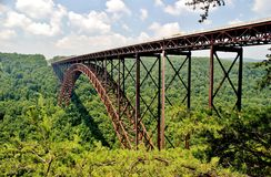 Neuer Fluss-Schlucht-Brücke Lizenzfreie Stockfotografie