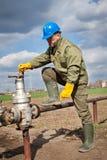 Neuer Gasverteilung Pfosten Lizenzfreies Stockbild