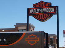 Neuer Harley Store Lizenzfreie Stockfotografie