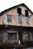 Neuer Hydrant-Hurrikan geverwüstetes Haus Lizenzfreie Stockfotos