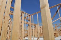 Neuer im Bau Hauptabschluß oben Stockfotos