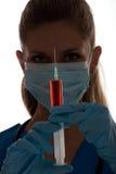 Neuer Impfstoff Stockfoto