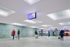 Neuer Innenbahnhof Breda, die Niederlande Lizenzfreie Stockfotos
