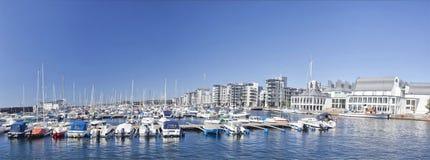 Neuer Jachthafen in Helsingborg, Schweden Lizenzfreie Stockfotos