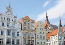 Neuer Markt in Rostock Germany Royalty Free Stock Photo