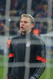 Neuer before the match FC Shakhtar-FC Bayern. UEFA Champions League Stock Photo