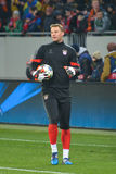 Neuer before the match FC Shakhtar-FC Bayern. UEFA Champions League Stock Images
