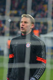 Neuer before the match FC Shakhtar-FC Bayern. UEFA Champions League Stock Photo