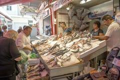Neuer Meerestiermarkt Lizenzfreies Stockfoto