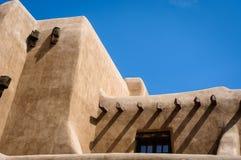 Neuer mexikanischer Pueblo Lizenzfreie Stockfotografie