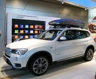 Neuer Modus von BMW SUV Lizenzfreies Stockfoto
