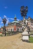 Neuer Palast in Sanssouci Stockfotografie
