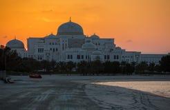 Neuer Präsidentenpalast in Abu Dhabi Lizenzfreie Stockfotografie