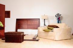 Neuer Raum. Stockbild