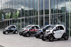 Neuer Renault twizy Stockfoto