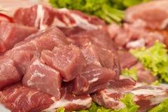 Neuer rohes Fleisch-Hintergrund mit Rindfleisch-Fleisch, der Türkei und Rinderhackfleisch lizenzfreie stockfotografie