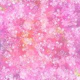 Neuer rosafarbener Blumenhintergrund Stockfotos