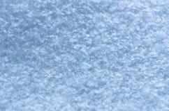 Neuer Schnee-Beschaffenheits-Hintergrund, natürliche Schneeflocken kopieren mit Kopien-Raum Blaue Tone Coloring Wintersaison, Wet lizenzfreies stockfoto