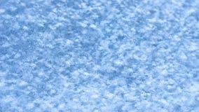 Neuer Schnee-Beschaffenheits-Hintergrund, natürliche Schneeflocken kopieren mit Kopien-Raum Blaue Tone Coloring Wintersaison, Wet stockbild