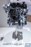 Neuer Suzuki BoosterJet Motor am IAA 2015 Lizenzfreies Stockfoto