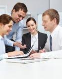 Neuer Unternehmensplan Stockbild