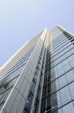 Neuer Wolkenkratzer Stockbild