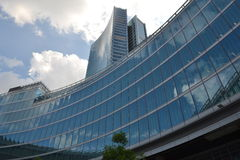 Neuer Wolkenkratzer in Mailand, Italien Stockbild