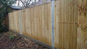 Neuer Zaun Stockbilder