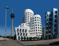 Neuer Zollhof, Duesseldorf, Germany Royalty Free Stock Photo